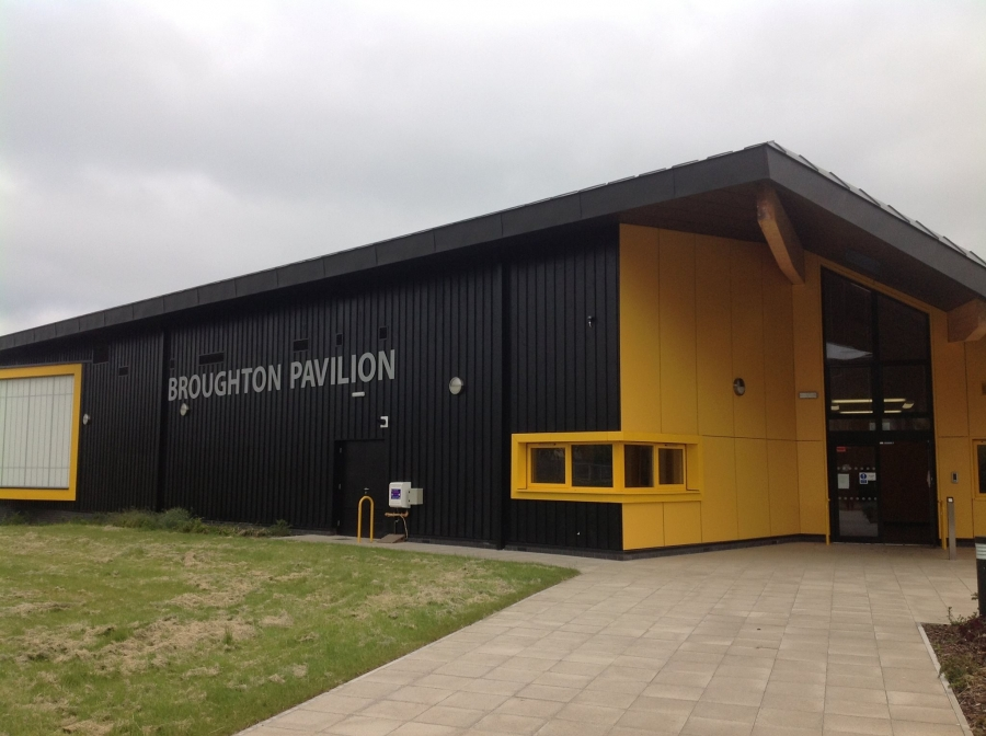 Saturday - Broughton Pavilion